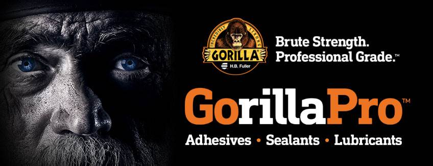 GorillaPro adhesives, sealants and lubricants.